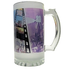 16 oz. Foto Frosted Glass Stein
