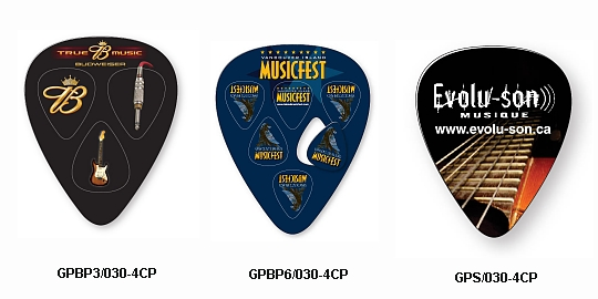 Compressed Guitar Picks