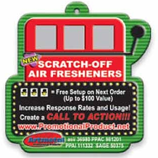 Scratch & Win Air Fresheners