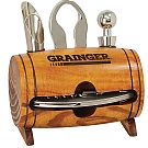 Barrel Wine 4 Piece Wine Tool Set