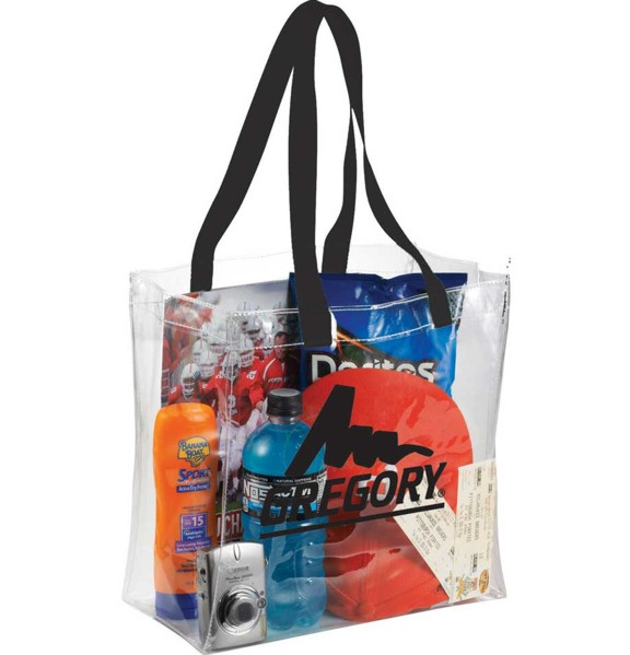 SM-7400 - Rally Clear Stadium Tote