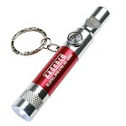0762 - Keychain with Whistle, LED light and compass