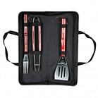 1842 - 3 Pieces BBQ Tool Set in Textile Travel Case