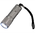0727 - Heavy Duty Aluminum Flashlight