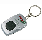 0900 - White LED Light Key Ring