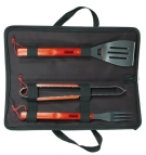 1273 - 3 Pieces BBQ tool set
