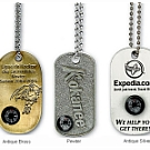 Compass Dog Tags