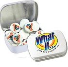300-IRM - Domed Tin Imprinted Round Mints