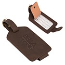 BL8991 - Premium Bonded Leather Luggage Tag