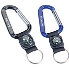 M8108 - Carabiner With Decorative Compass (8MM)