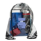 P8622 - Stadium Clear Drawstring Bag