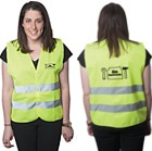 V8607L - HIGHVIZ Large Safety Vest