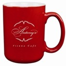 C1380 - Red & White 2tone Cardinal 16oz Mug