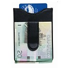 L9204-1BK - Money Clip & Multi-Card Holder black
