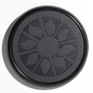 Black Satin Single Desktop Coaster