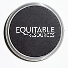 Brushed Silver Single Desktop Coaster