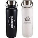 M6500SSBK - Olympia 17oz Stainless Steel Bottle