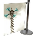 CB-EXT-K-1500 - Cafe Barrier Banner Stand