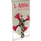 L-MINI - tension Banner Stand