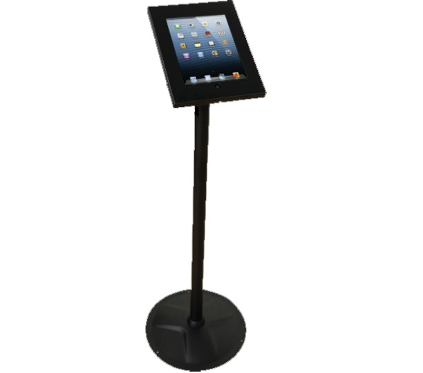 PAD12-02A BLACK - Freestanding iPad Stand