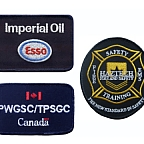 Embroidered Flame Retardant Emblems