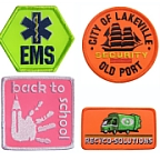 Hivis Embroidered Emblems