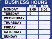 Business Hour Kits