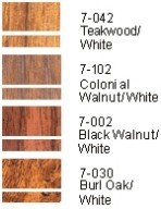 Engraving Wood Colours
