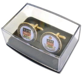 Plastic Cuff Links Box
