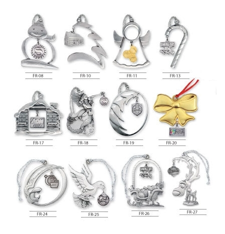 OR-DGL - Dangler Style Pewter Ornaments