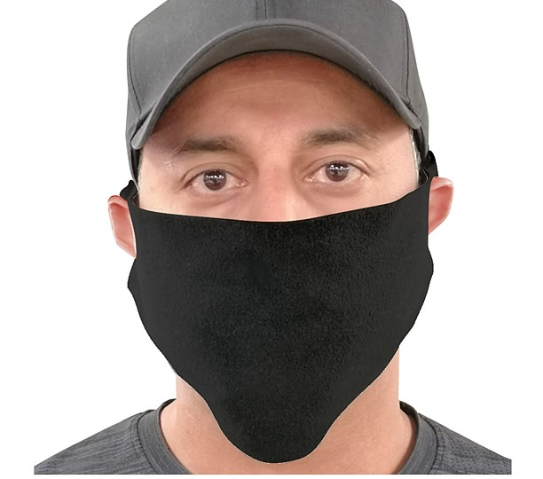 BL672 - Fleece Daily Face Mask, Blank Only