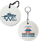 PK702 - Circle Floating Key Tag