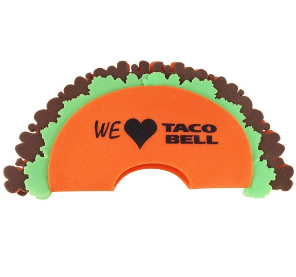 TACO200-CAN - Foam Taco Hat