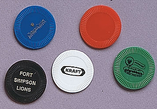 9861-04 - Token Poker Chip