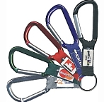 "765CAR-BW - 3"" Carabiner One Colour Printed"