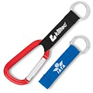 CL-351 - Carabiner with Printed Lanyard