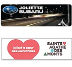 B-310P - Four colour process bumper stickers