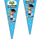 D-4115P - Flexible PVC Pennants