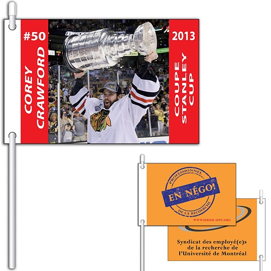 DS-575P - Flexible PVC Flags