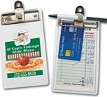 CL-MINI - 4 Colour Process Styrene Guest Check Holder