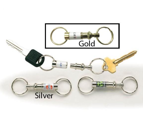 Pull Apart Key Tags - KE-PULL - Promotional Flexible Key Holders