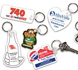 KE-S - Custom Shape Styrene Key Tags