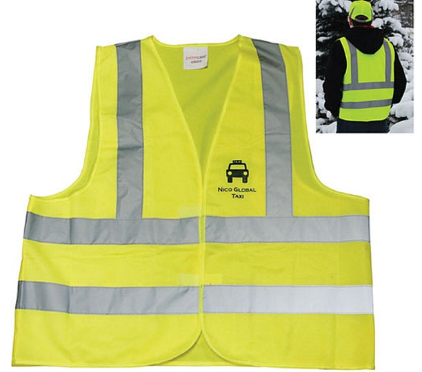 60050 - Safety Vest with Reflective bands