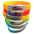 624400 - Wristband Silicone with Steel Plate