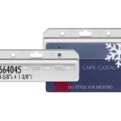 664045 - Half-card Access Card Holder