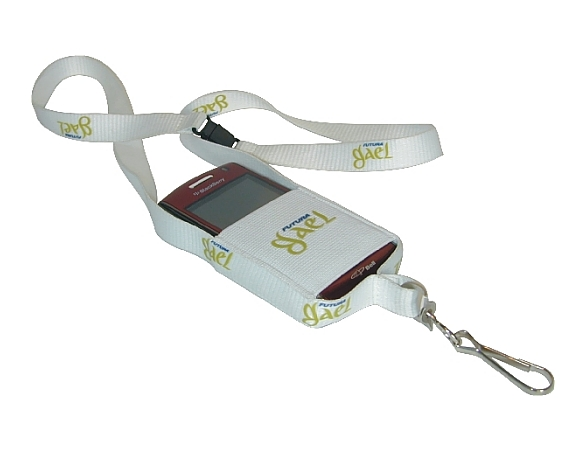 OS750CELL - Screenprinted Mobile Phone Lanyard