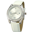 Bezel crystal watch