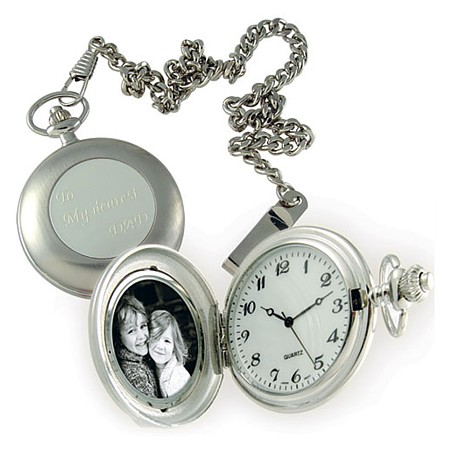 695-00SL - Golden Age Classic Pocket Watch (Silver)