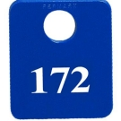 MP-172N - Coat Checks - Consecutively Numbered only