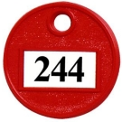 MP-244 - Plastic Self Number Tag